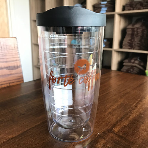 Forté Coffee Reusable Iced Drink To-Go Cup