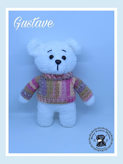 Tutoriel, crochet,pattern, Amigurumi, GUSTAVE