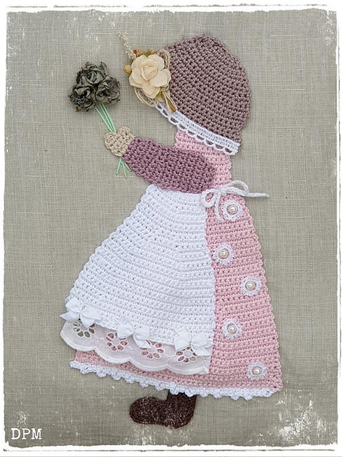 "Patch "" Sunbonnet """