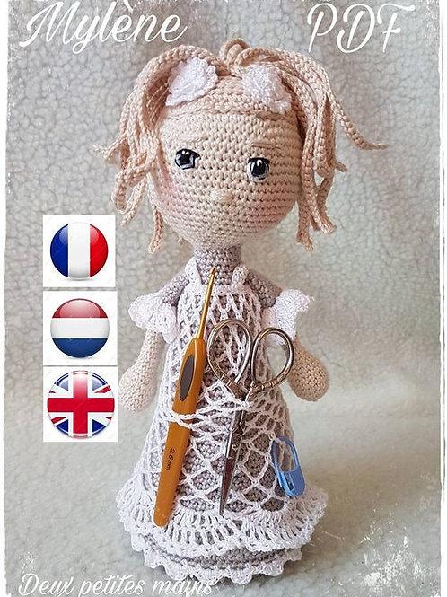 Mylène poupée distributeur