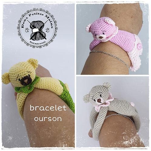 Bracelet ourson