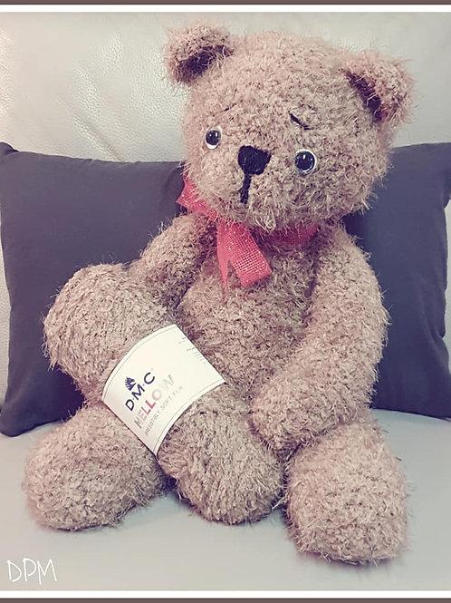Tutoriel, crochet,pattern, Amigurumi, TEDDY l'ourson de Noël