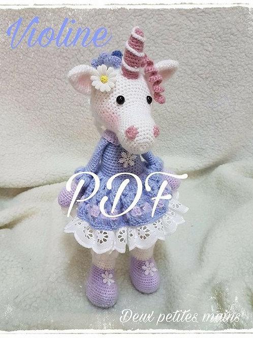 Violine the unicorn