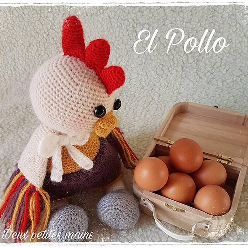 El Pollo le poulet coloré