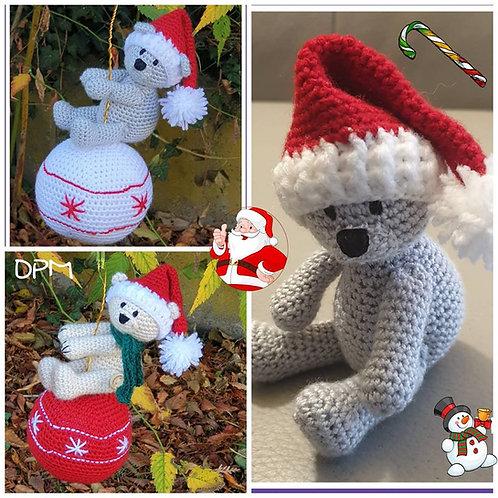 Boule de Noël ourson