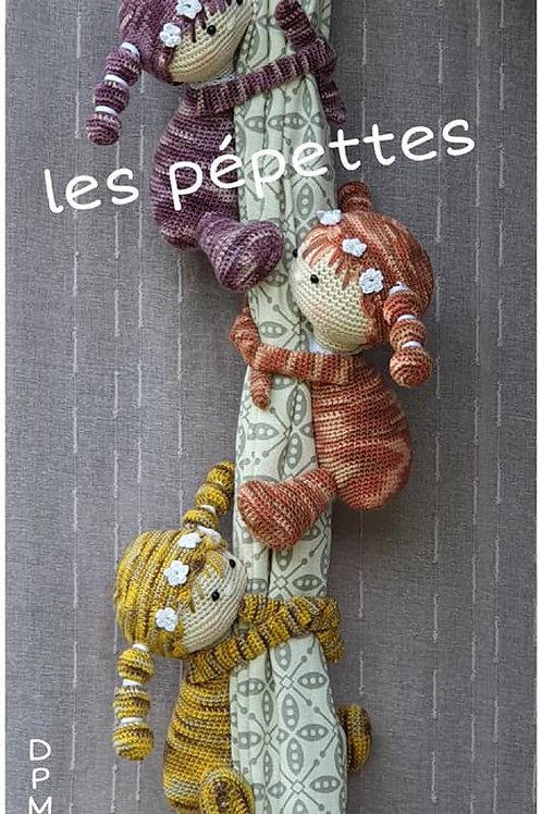 """Les Pépettes """"embrasses de rideaux"""""""