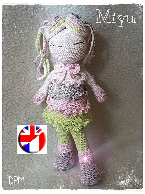 Miyu Japanese doll
