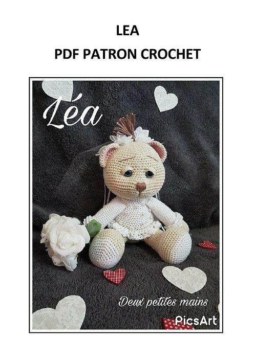 Léa l'oursonne mariée