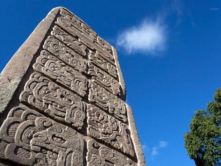 La estela más antigua