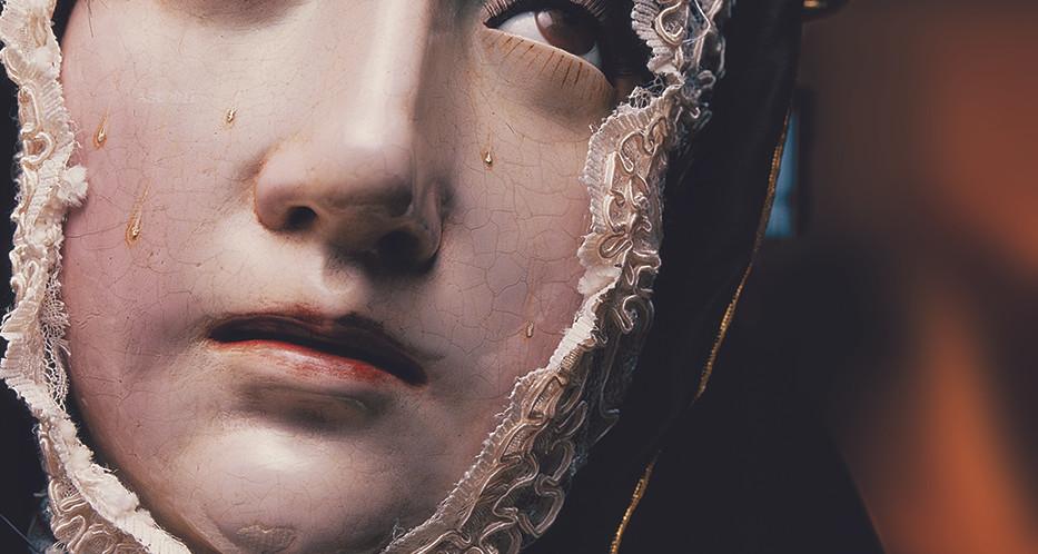 Escultura La Dolorosa