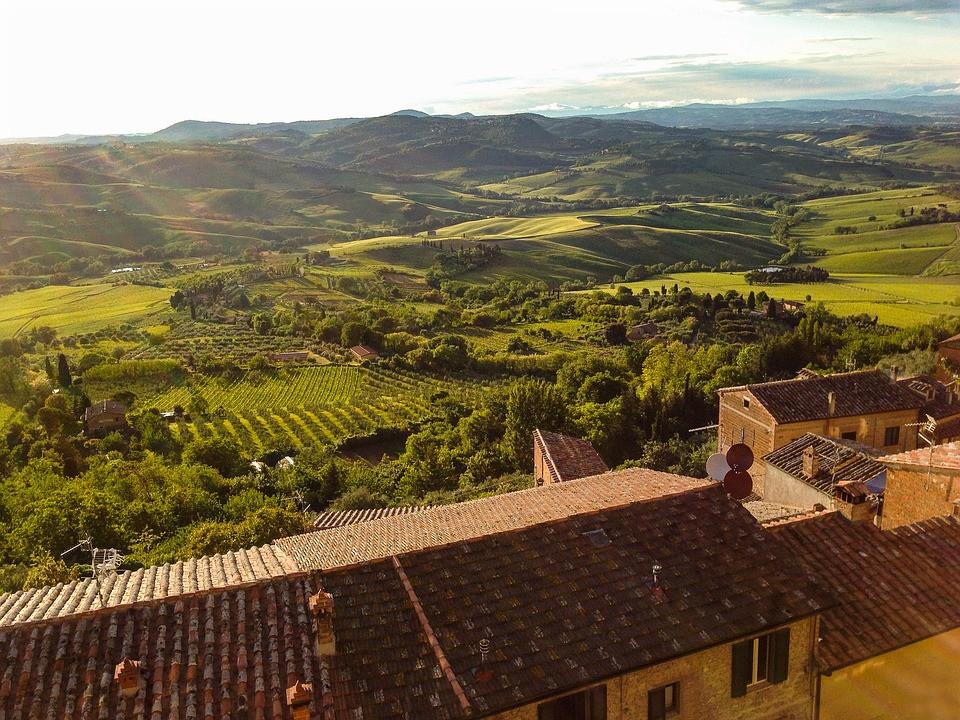 Montepulciano, Siena, Toscana, Itália