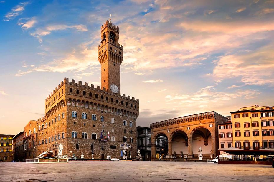 Viajar Florença: A bela Piazza della Signoria …