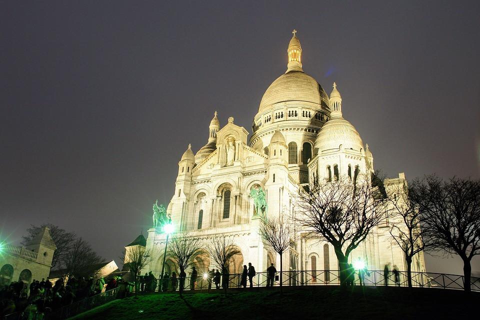 Basílica Sacré Coeur, Paris