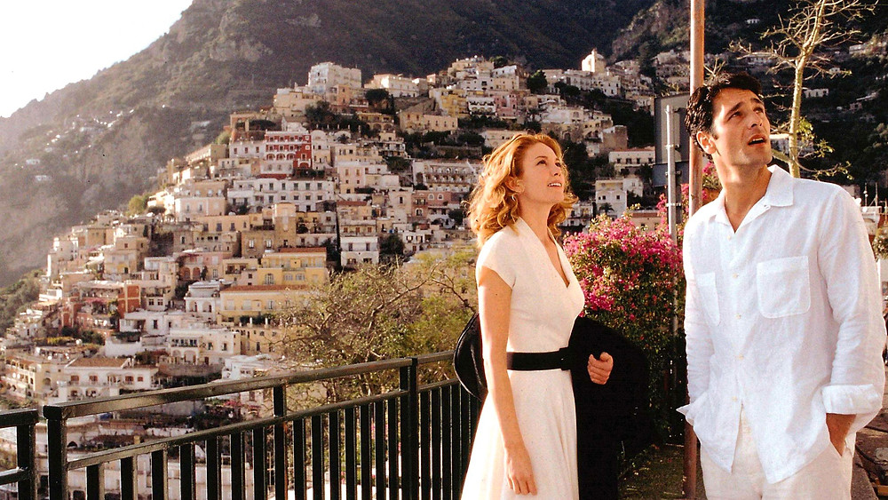 """Positano, """"Sob o Sol da Toscana"""""""
