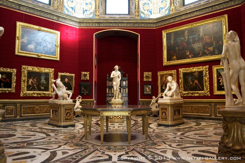 Galeria Uffizi, Florença - Sala da Tribuna