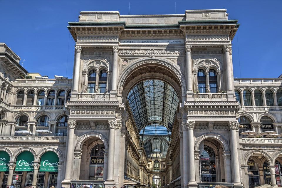 Galeria Vittorio Emanuele, Milão, Lombardia