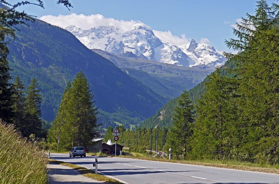 Suiça, Alpes Nevados