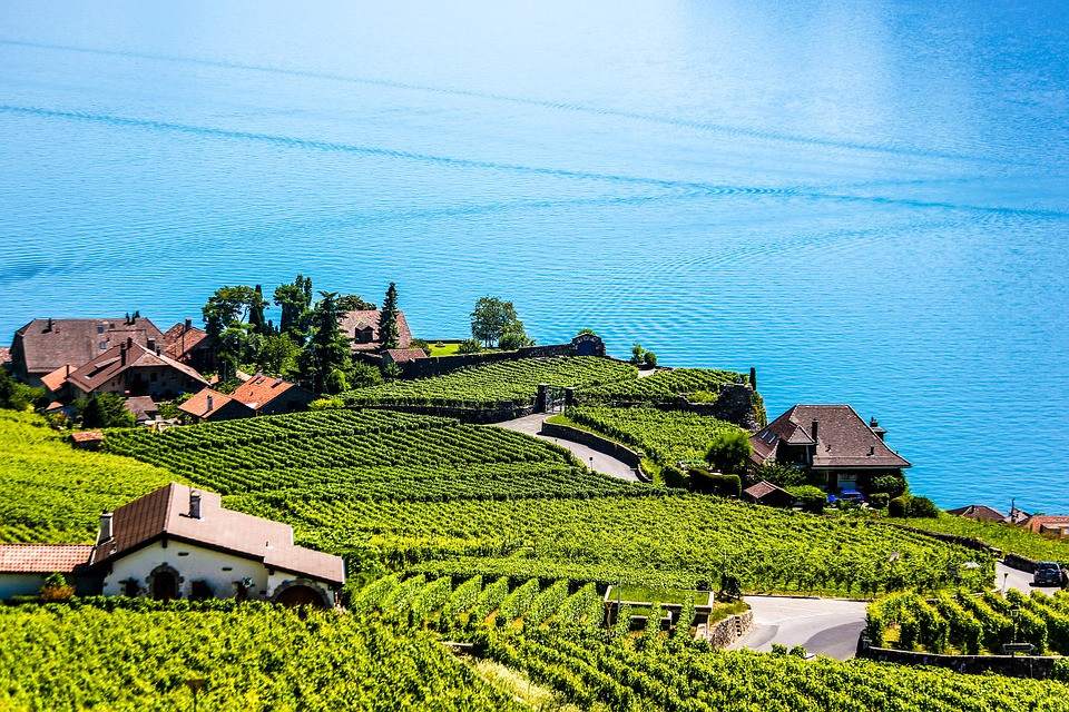 Viajar Suíça - Montreux beleza exuberante e Festival anual de Jazz ...