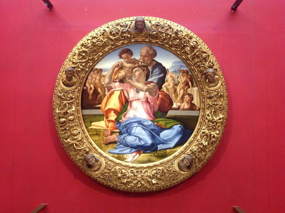 """Sagrada Família (Tondo Doni)"" Michelangelo"