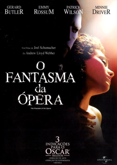 O Fantasma da Opera no Cinema