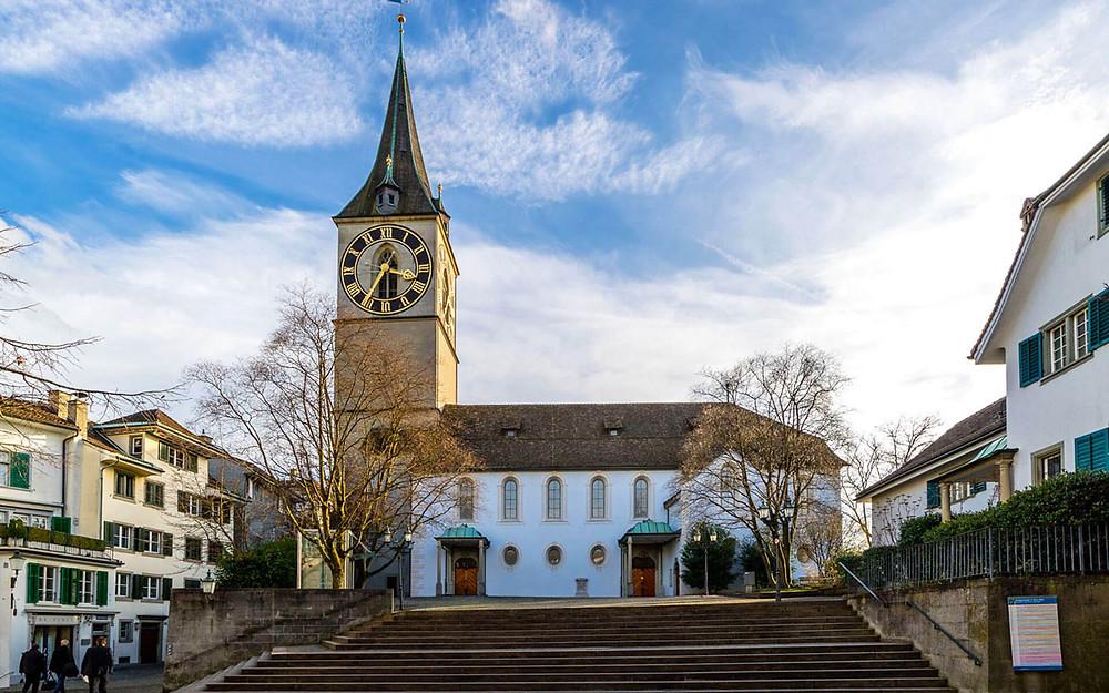 St. Peter Church, Zurique, Suiça