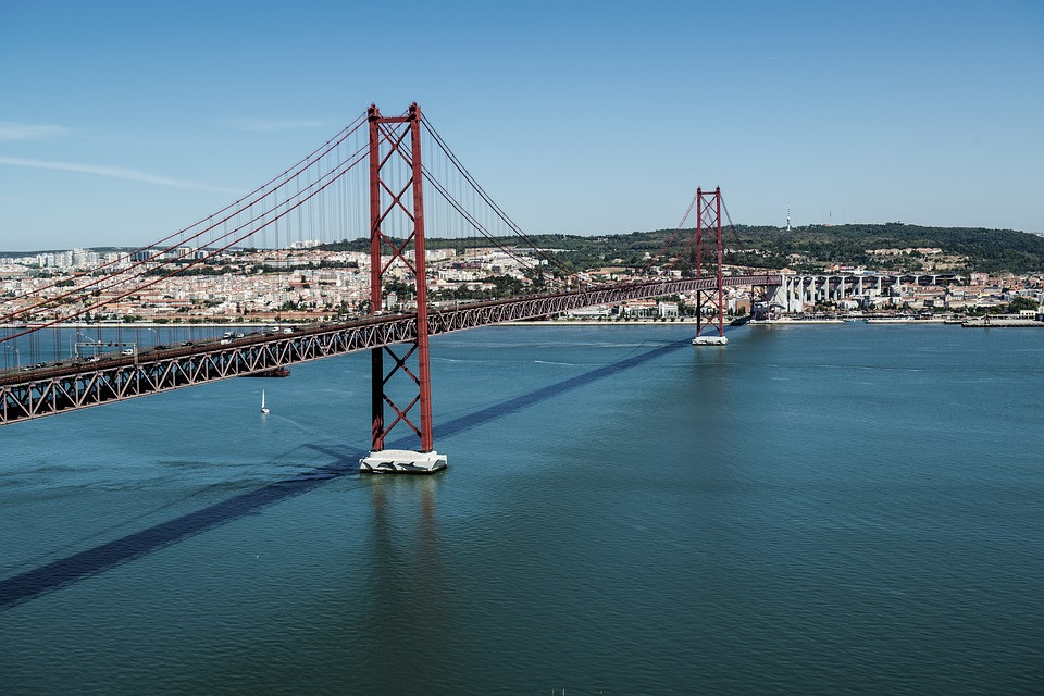 Rio Tejo, Lisboa, Portugal