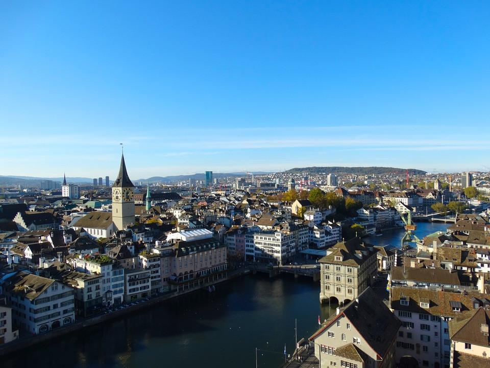 Rio Limmat, Zurique