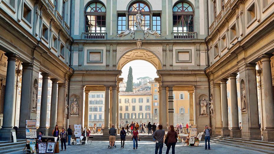 Destino Florença: A História da Galeria Uffizi e a Dinastia Médici.