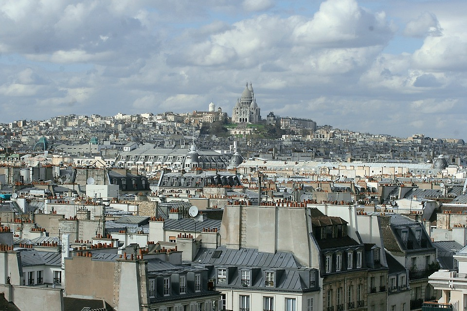 Basílica Sacre Coeur, Paris