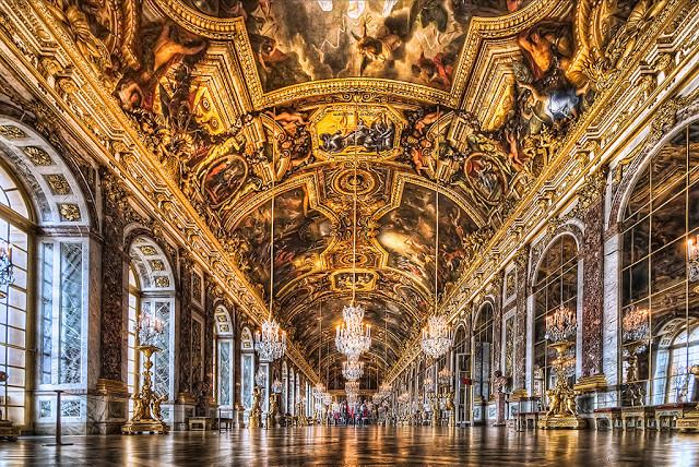 Galeria dos Espelhos, Palacio de Versalhes