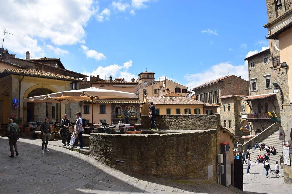 Cortona, Arezzo, Toscana, Itália