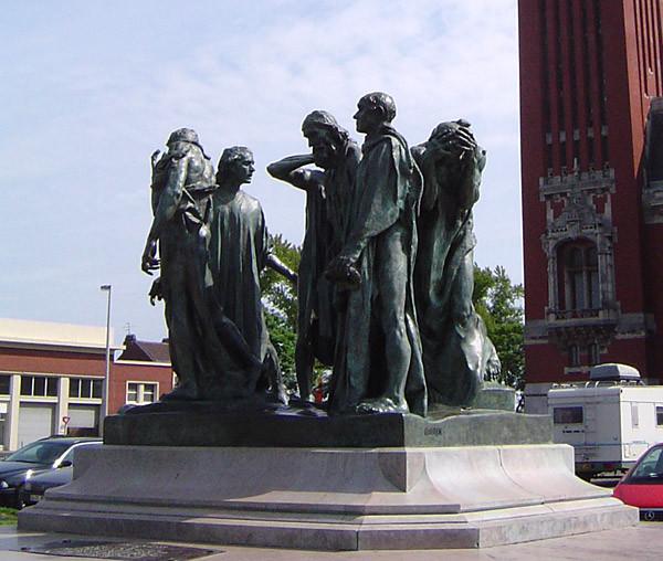 Os Burgueses de Calais, Auguste Rodin, Calais