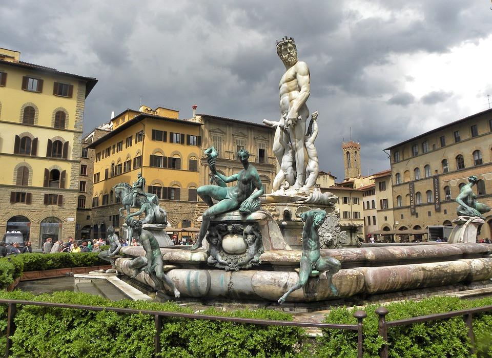 Fonte de Netuno, Bartolomeo Ammanati, Florença