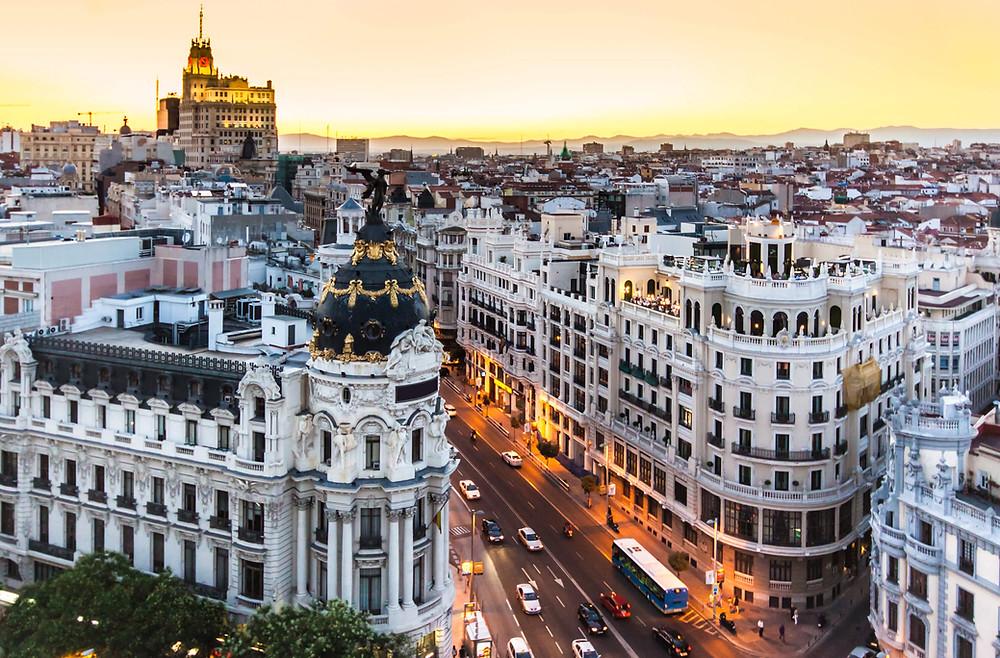 Gran Via, Madri, Espanha