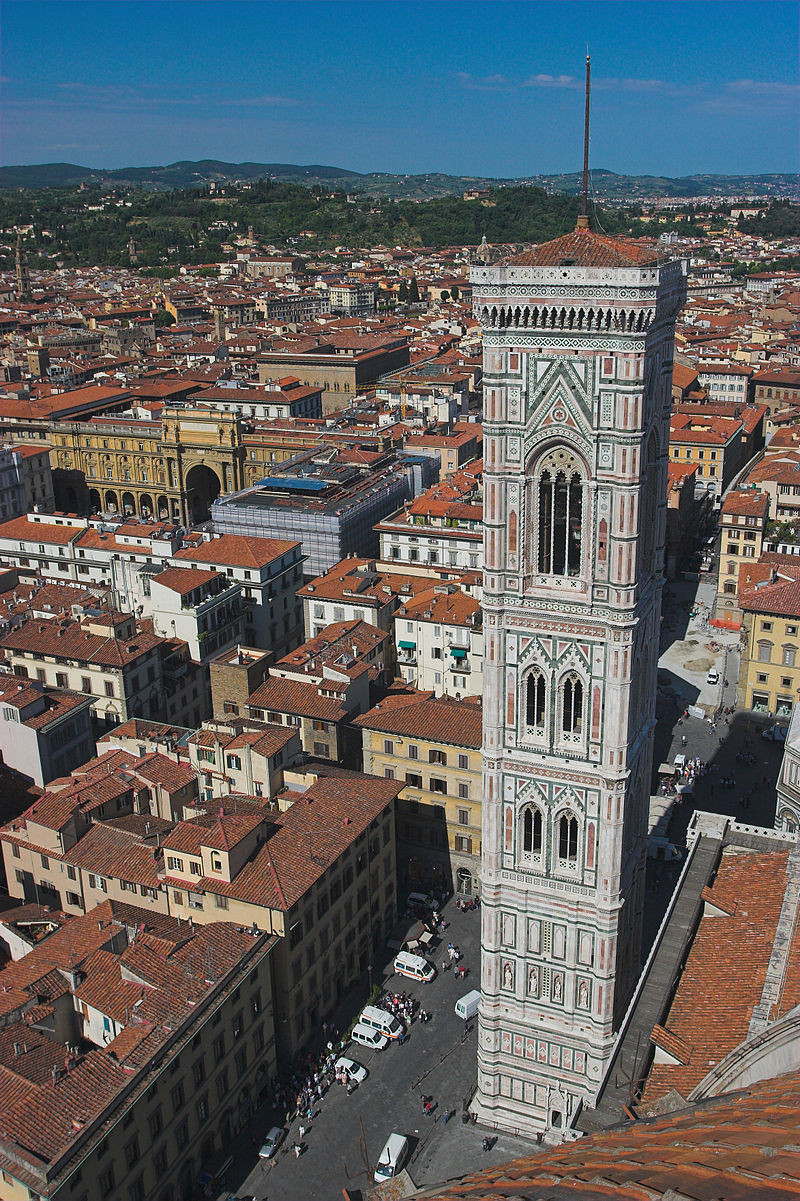 Campanário da Catedral de Santa Maria del Fiore, Florença