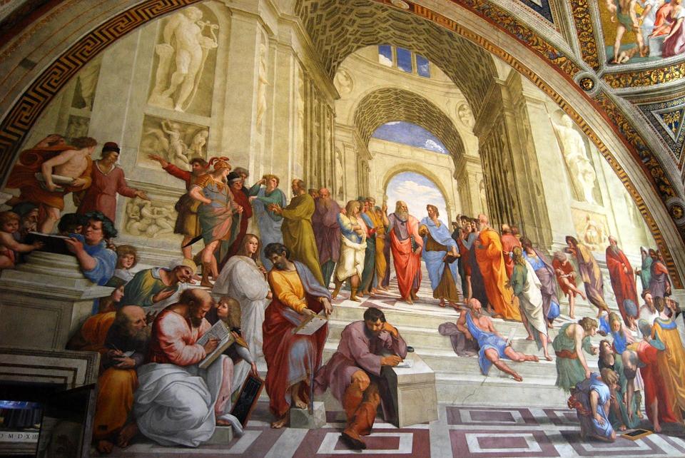 Escola de Atenas, Rafael