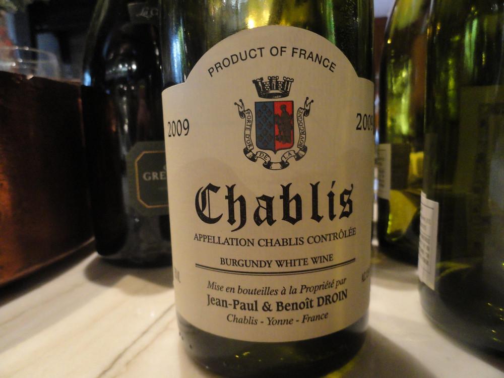 Vinho Chablis, Borgonha, França