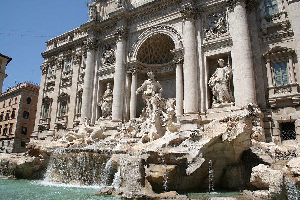 Fontana Di Trevi, Roma, Lácio