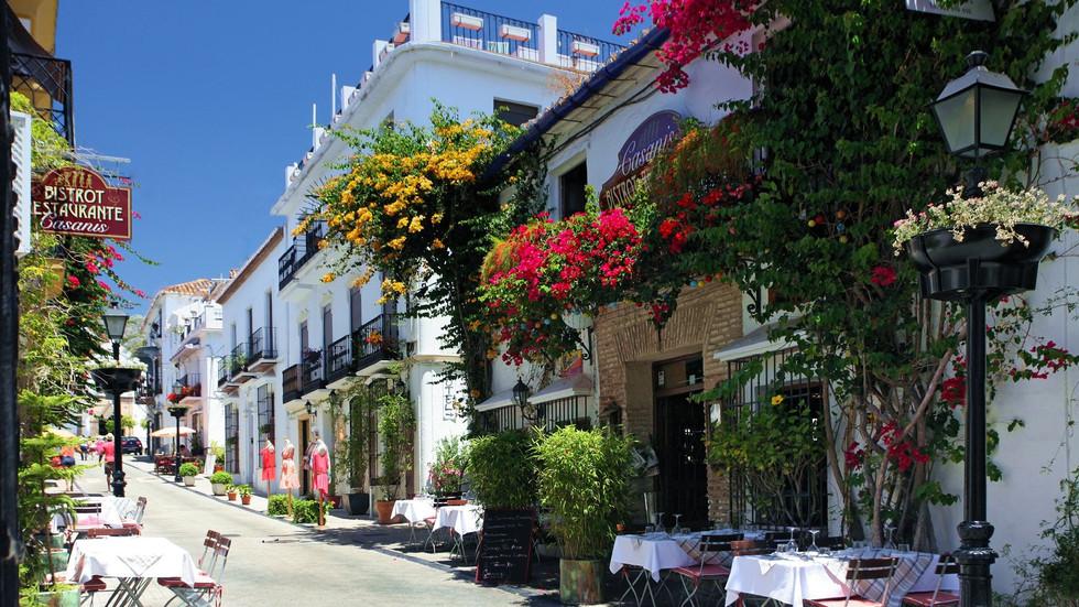 Viagem à Marbella, um paraíso em Andaluzia, Espanha