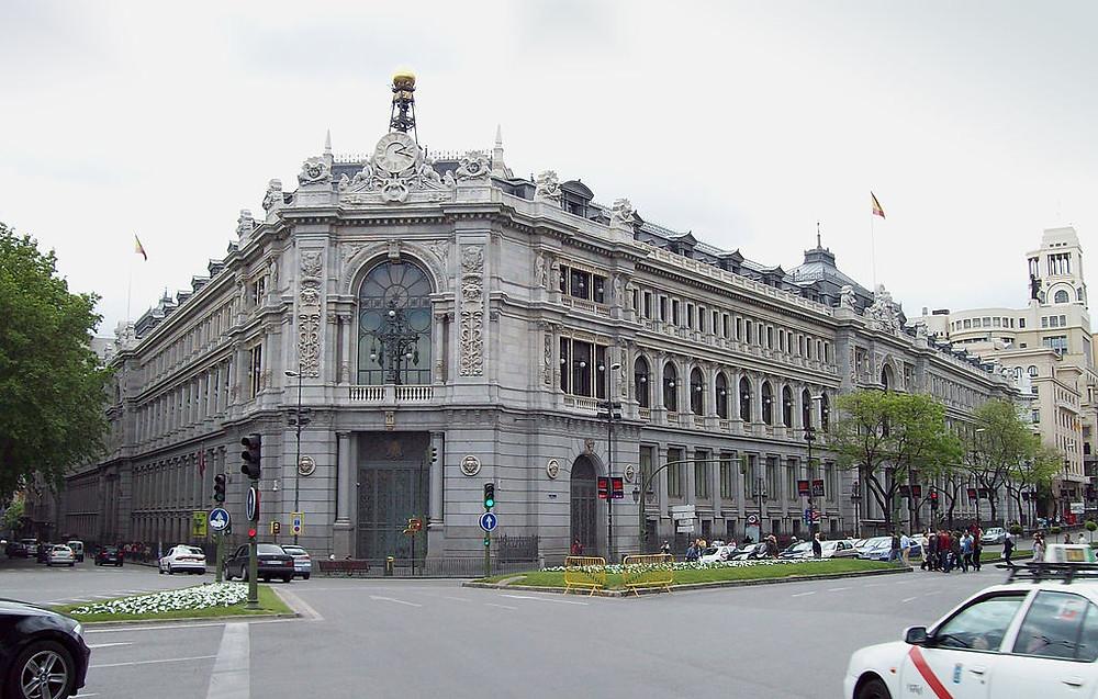 Banco da Espanha, Madri, Espanha