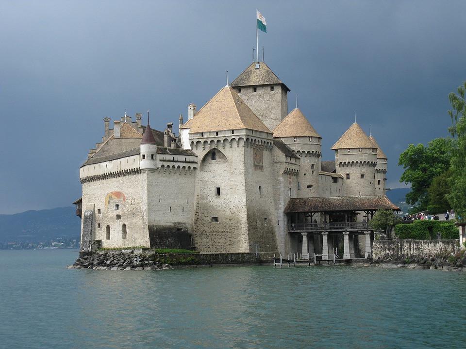 Castelo Chillon, Montreux, Suíça