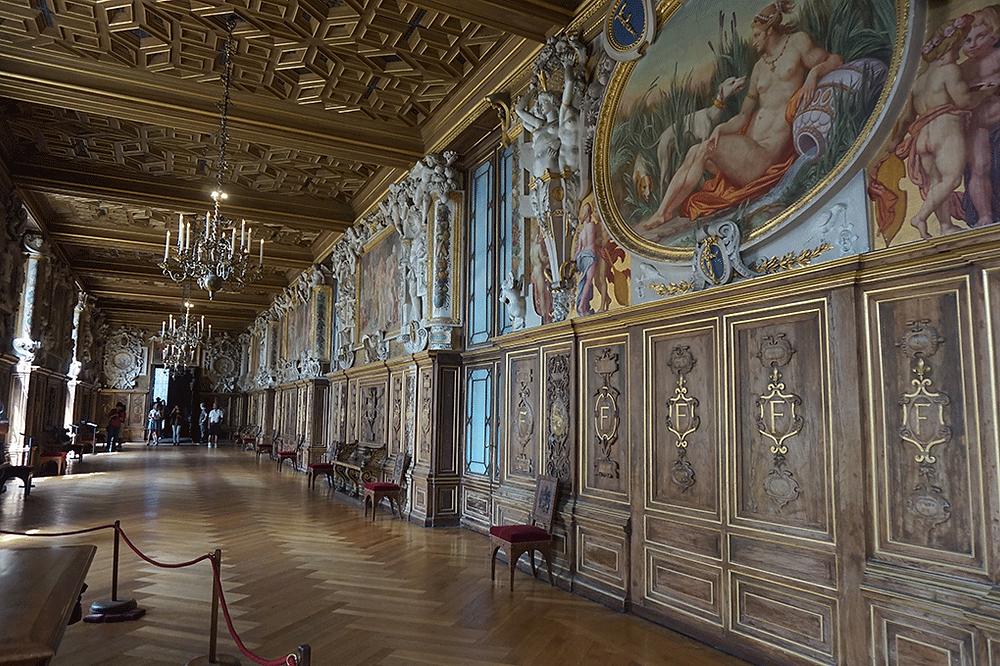 Palácio de Fontainebleu, França