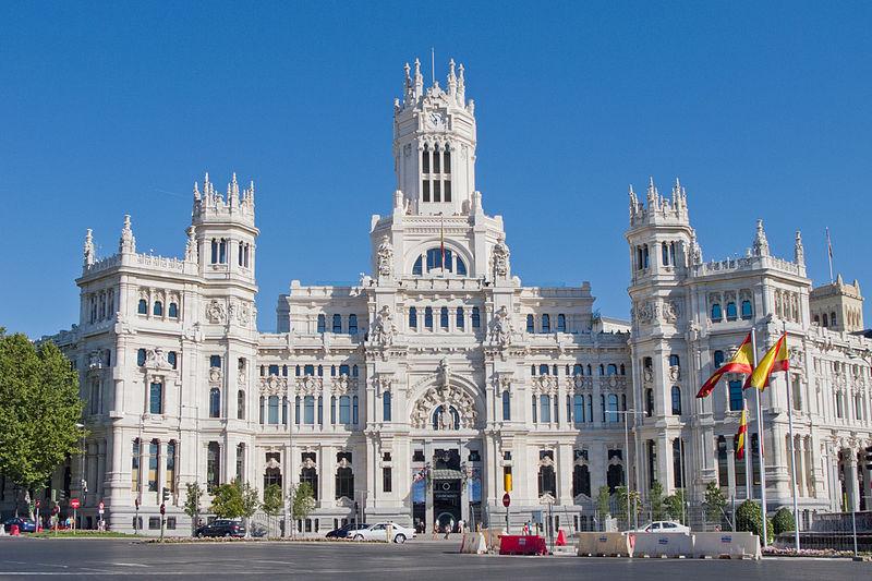 Edifício dos Correios, Plaza Cibeles, Madri