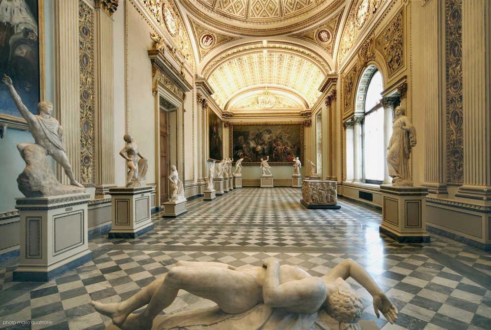 Galeria Uffizi, Florença - Sala Niobe