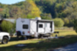 The Hiching Post Campground offers RV camping