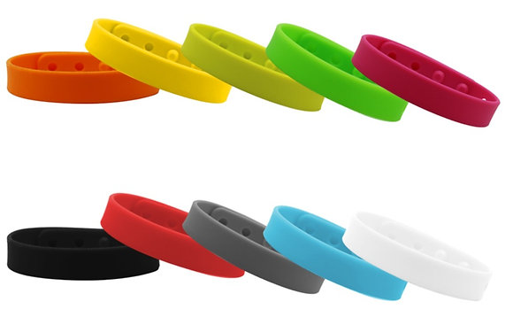 Adjustable Silicone Bracelet - Mosquito Repellent