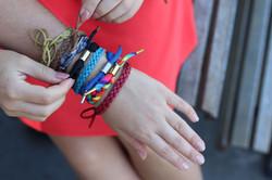 MosQuit Leather look mosquito bracelets