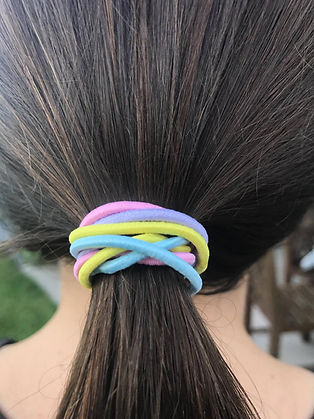 MosQuit anti lice hair bands colour life