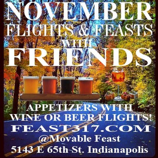 Flights Feasts & Friends