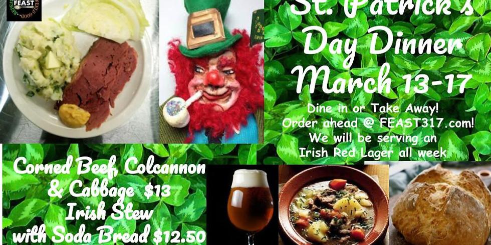 St Patrick's Day Dinner  Slainte!! (1)